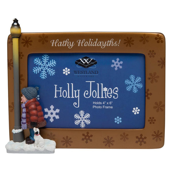 Holly Jollies - Hathy Holidayths Picture Frame