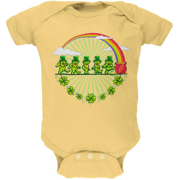 Grateful Dead - Leprechaun Bears Butter Baby One Piece