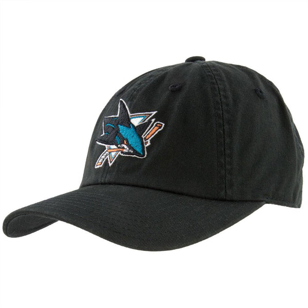 San Jose Sharks - Logo Blue Line Adjustable Baseball Cap