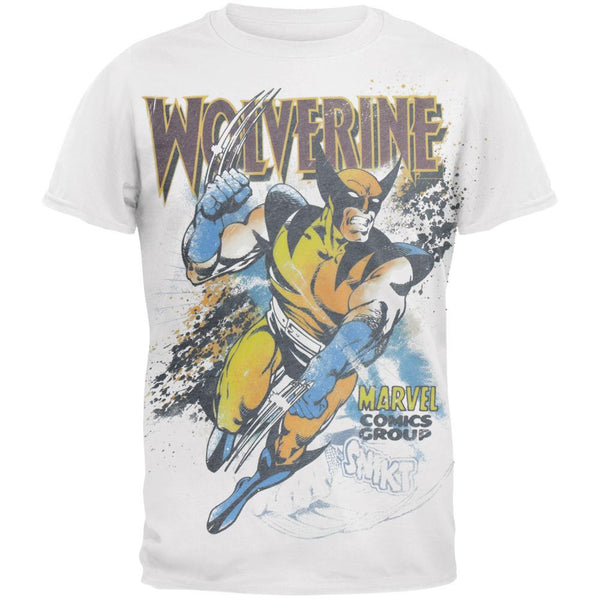 Wolverine - Splatter Subway T-Shirt