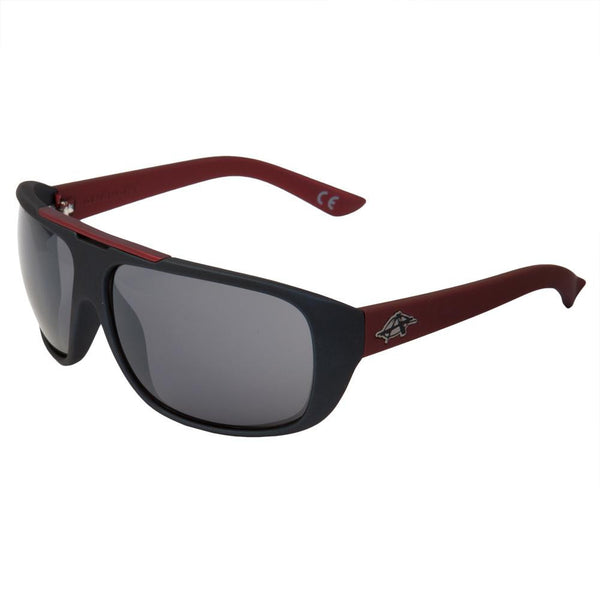 Anarchy Eyewear - Slam Black & Red Sunglasses