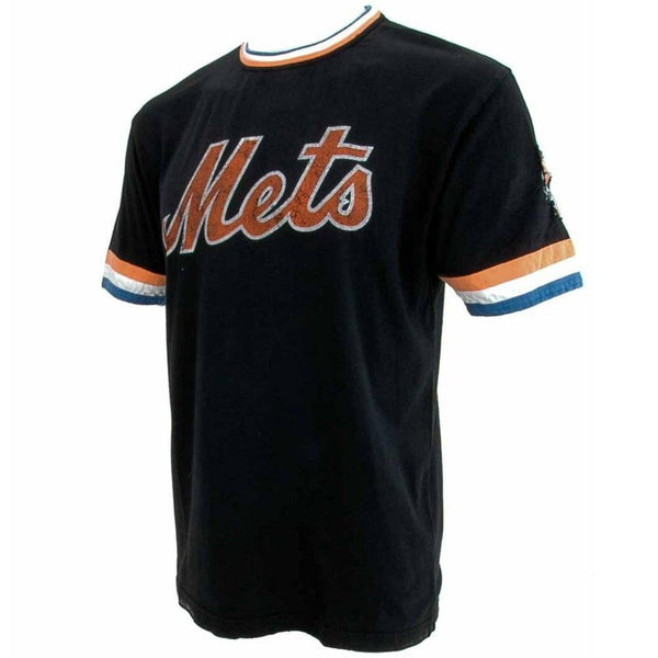 New York Mets - Cursive Logo Black Jersey