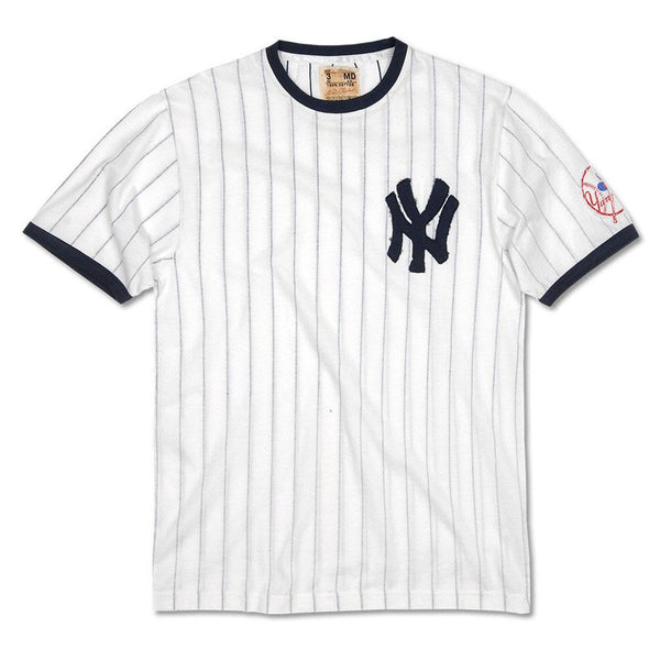 New York Yankees Overgrown Logo Soft T Shirt Oldglory Com
