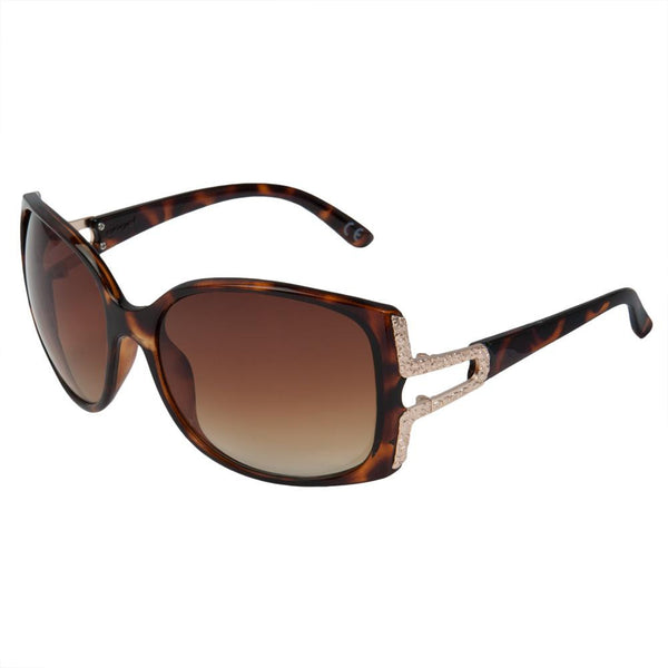 Angel - Bunny Brown Oversized Sunglasses