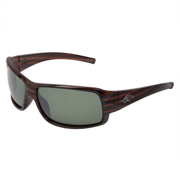 Anarchy Eyewear - Huck Dark Brown Polarized Sunglasses