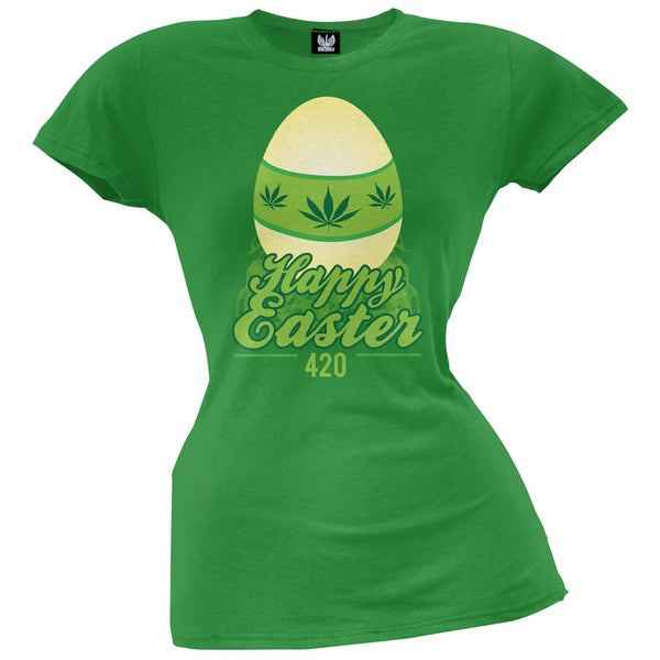 420 Easter Juniors T-Shirt