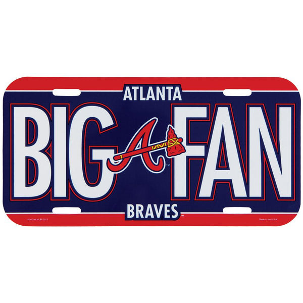 Atlanta Braves - Big Fan License Plate