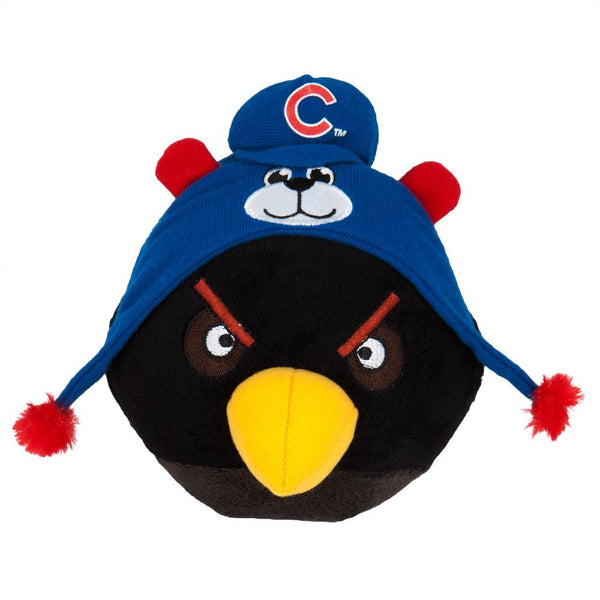 Angry Birds - Chicago Cubs Black Bird Plush