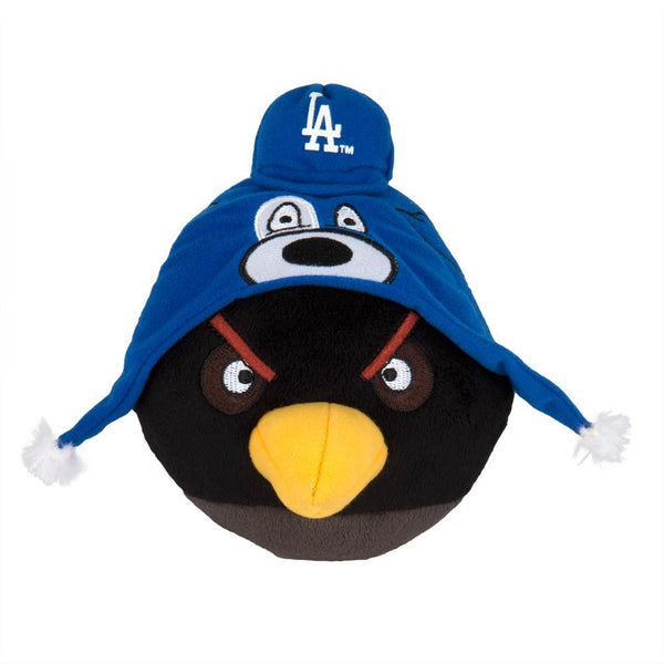 Angry Birds - Los Angeles Dodgers Black Bird Plush