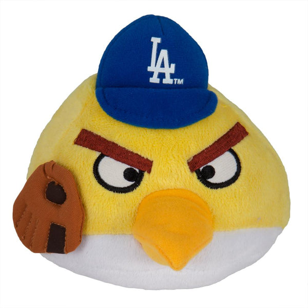 Angry Birds - Los Angeles Dodgers Yellow Bird Plush