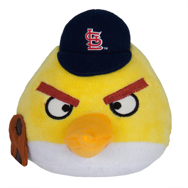 Angry Birds - St. Louis Cardinals Yellow Bird Plush