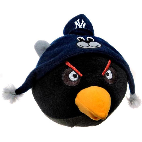 Angry Birds - New York Yankees Black Bird Plush