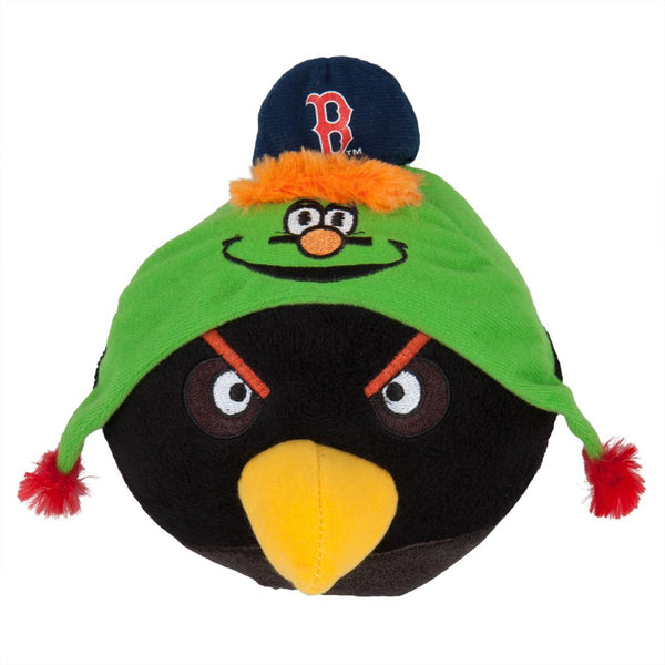 Angry Birds - Boston Red Sox Black Bird Plush