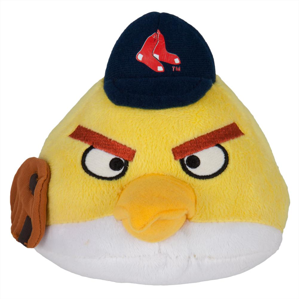 Angry Birds Boston Red Sox Yellow Bird Plush Oldglory Com