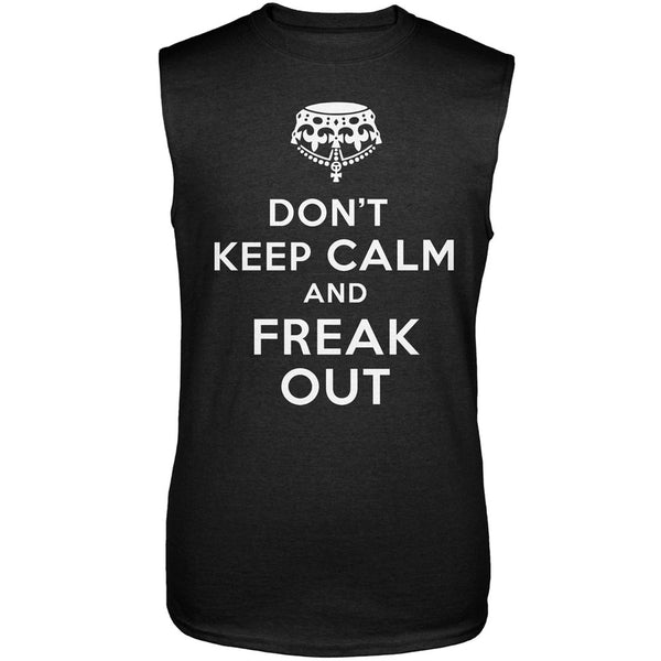 Don't Keep Calm and Freak Out Sleeveless T-Shirt