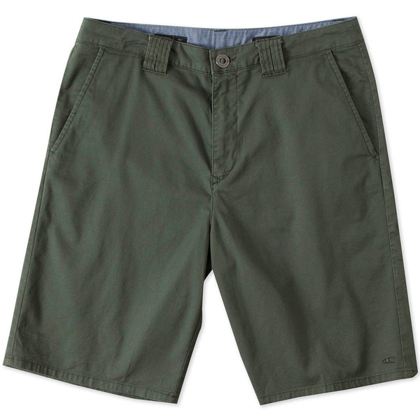 O'Neill - Contact Stretch Army Green Walk Shorts
