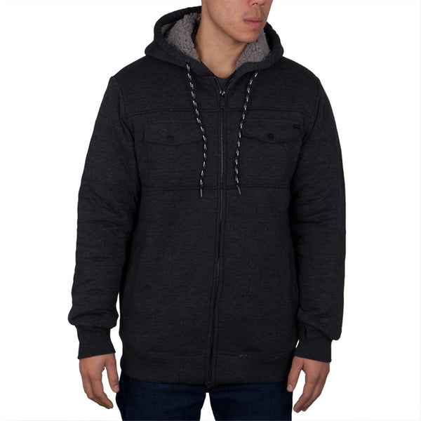 O'Neill - Heights Black Zip-Up Hoodie
