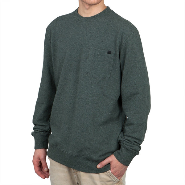 O'Neill - Bayview Steel Grey Crew Neck Sweatshirt