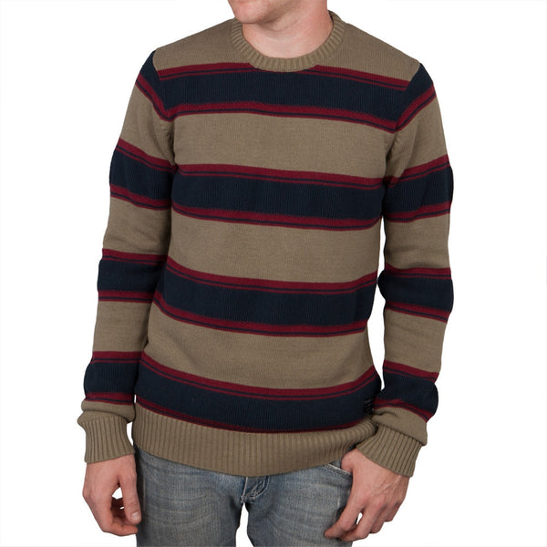 O'Neill - Hayes Navy Striped Sweater