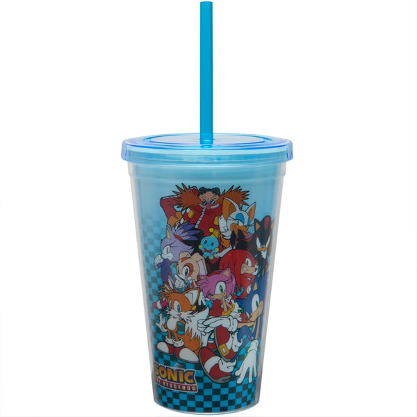 Sonic the Hedgehog - Group Collage Checkered Carnival Cup