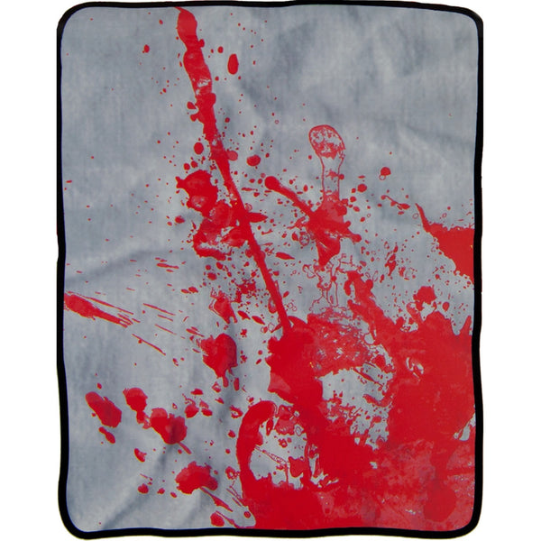 Blood Splatter Fleece Blanket