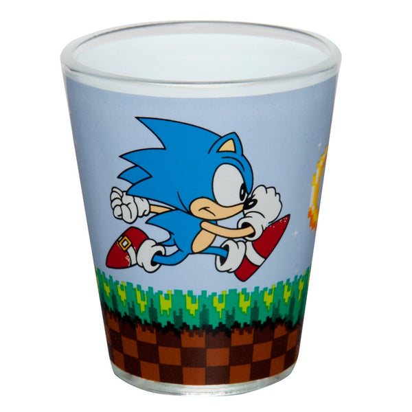 Sonic the Hedgehog - Chasing Ring Shot Glass