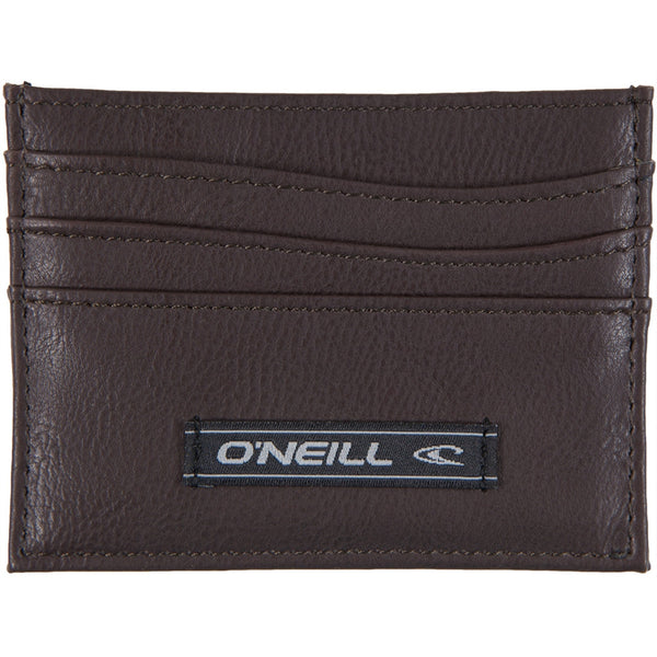 O'Neill - Simps PU Brown Card Wallet