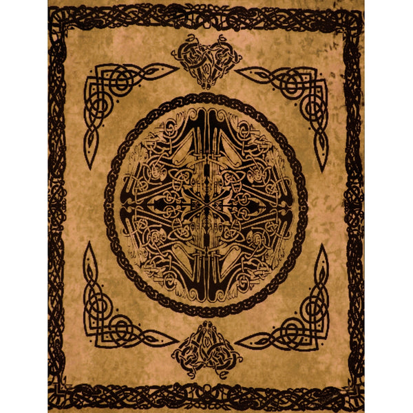 Web of Life Amber Single Tapestry