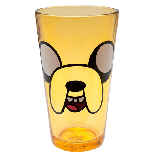 Adventure Time - Jake Face Pint Glass