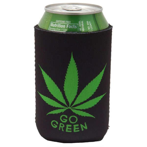Go Green Can Cooler