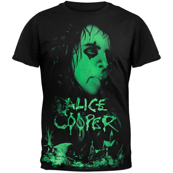 Alice Cooper - Neon Face T-Shirt