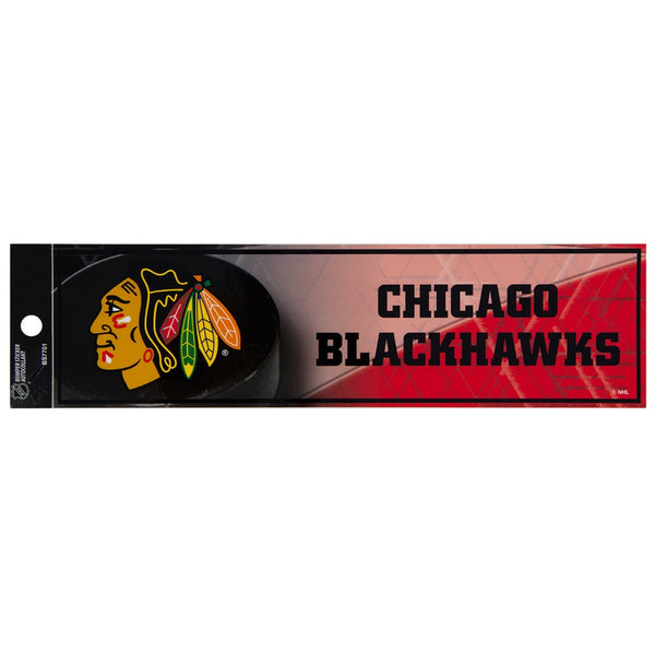 Chicago Blackhawks - Net Logo Bumper Sticker