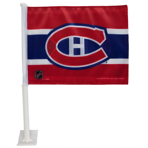 Montreal Canadiens  - Logo Car Flag
