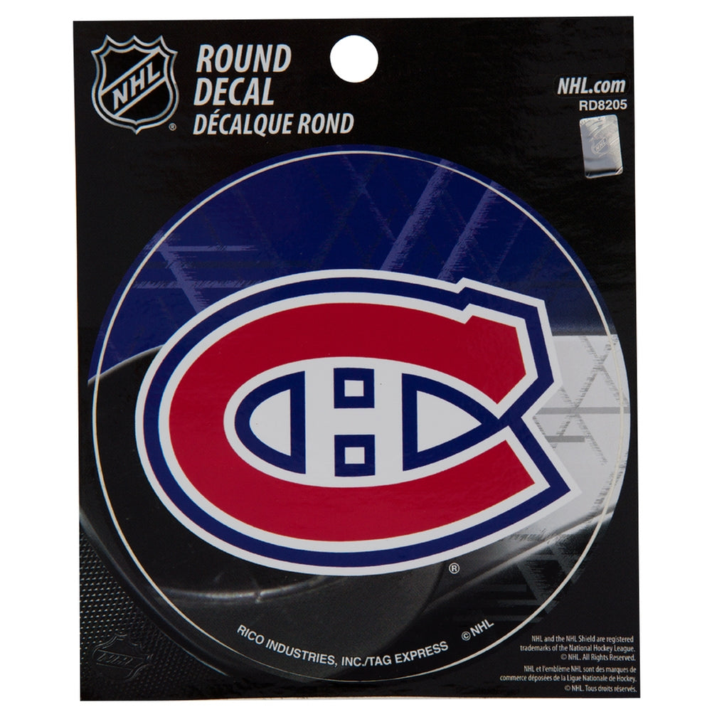 Rico Industries NHL Montreal Canadiens Bumper Sticker