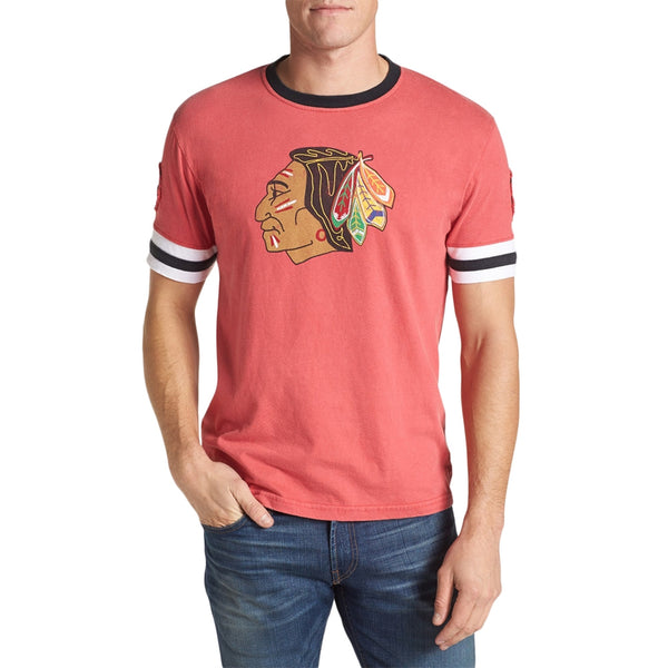 Chicago Blackhawks - Logo Remote Control Red Jersey T-Shirt