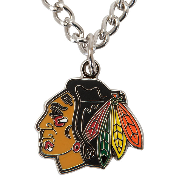 Chicago Blackhawks - Logo Charm Necklace