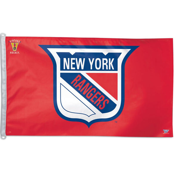 New York Rangers - Vintage Logo Flag