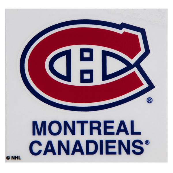 Montreal Canadiens - Logo Cling-On Decal
