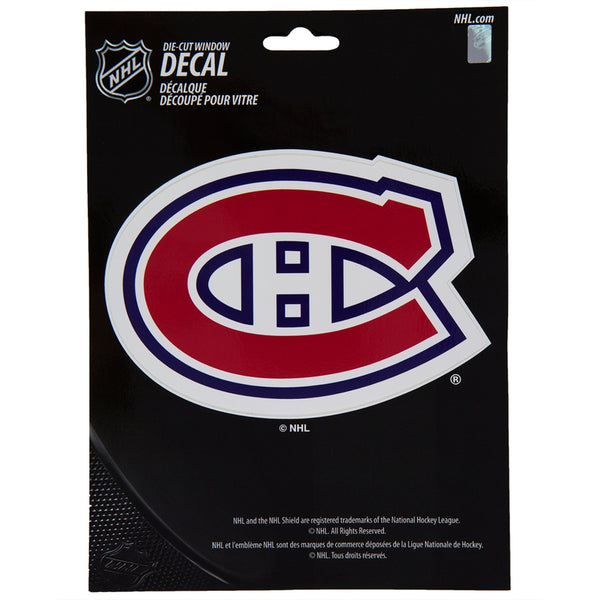 Montreal Canadiens - Logo Medium Die-Cut Decal