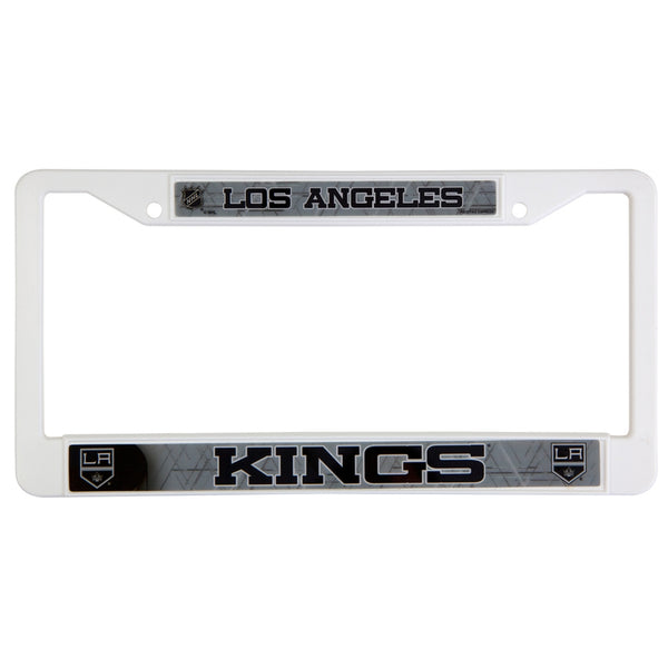 Los Angeles Kings - Letter Logo Plastic License Plate Frame