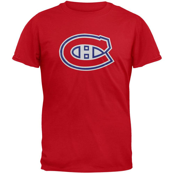 Montreal Canadiens - Core Logo Youth T-Shirt