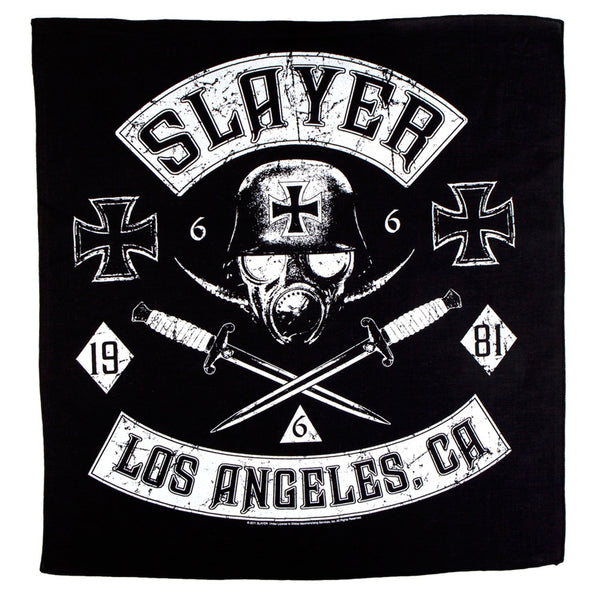Slayer - Los Angeles California Bandana