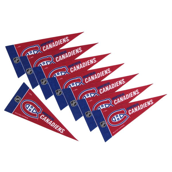 Montreal Canadiens - Logo 8-Pack Mini Pennant