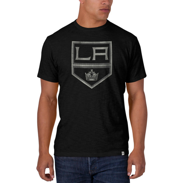 Los Angeles Kings - Crown Logo Scrum Premium T-Shirt