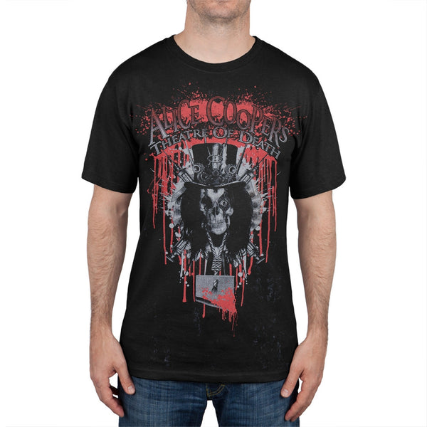 Alice Cooper - Bloody Theatre of Death Soft T-Shirt