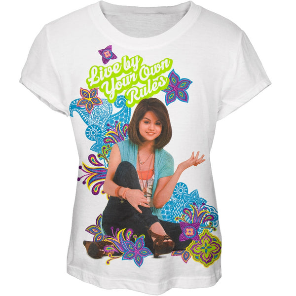 Wizards Of Waverly Place - Your Own Rules Girls Youth T-Shirt