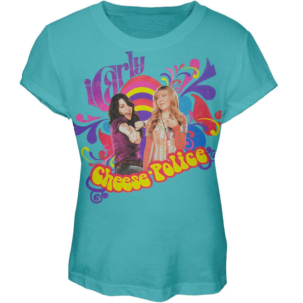 iCarly - Cheese Police Girls Youth T-Shirt