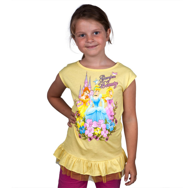 Disney Princesses - Garden Of Beauty Girls Juvy Sleeveless Dress