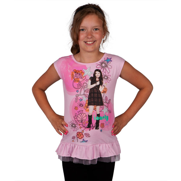 iCarly - Glitter Floral Carly Girls Juvy Dress