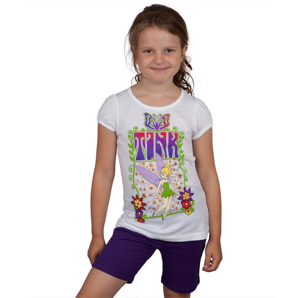 Tinkerbell - Radient Tink Girls Juvy Shorts Set
